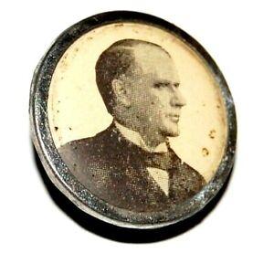 1896 WILLIAM MCKINLEY STUD campaign pin pinback button political presidential