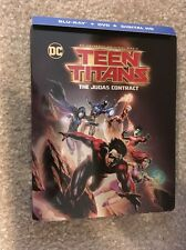 Teen Titans The Judas Contract Bluray Steel Book  1 Disc Set(No Digital HD)