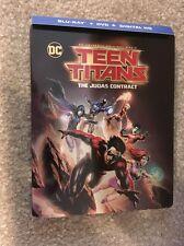 Teen Titans The Judas Contract Bluray Steel Book  1 Disc Set(No Digital HD)