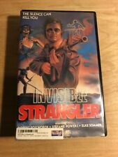 Invisible Strangler - VHS Cult Horror Big Box Clamshell - Elke Sommer