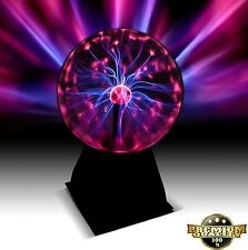 Magic Plasma Ball Lightening Streams Touch Glass Sphere Globe Lamp GIFT NEW