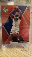 2019-20 Panini Mosaic Tmall Eric Paschall Rookie RC Red Wave Prizm SP