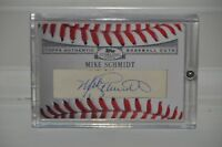 HOF MIKE SCHMIDT TOPPS STERLING CUTS AUTOGRAPH CARD