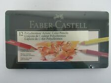 Faber-Castell Polychromos Artists color pencils 12pc. New, sealed