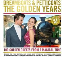 Dreamboats and Petticoats The Golden Years NEW 4CD 100 HITS OF THE 50's + 60's