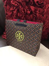 Tory burch shopping bag 9 x7x3.5 inches new  with tissue