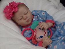 Reborn Baby OOAK Realborn Kimberly Asleep - Newborn Infant Girl Doll