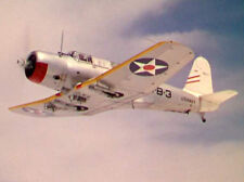 Giant 1/6 Scale American WW-II Vought SB2U Vindicator Plans,Templates,Instr 84ws