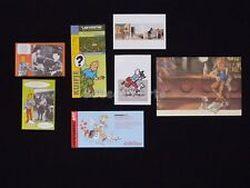 LOT HERGE ESTEVE FORT TINTIN Bar Cartes Hommage (338)
