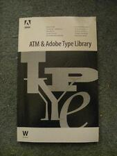 ATM & Adobe Type Library User Guide