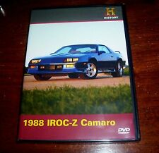 1988 IROC-Z Camaro Z Car Racing Chevy Chevrolet Muscle History Channel DVD NEW