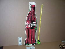 COCA-COLA -Made in the Shape of a BIG BOTTLE - Gas Station- COKE Giant Size SIGN