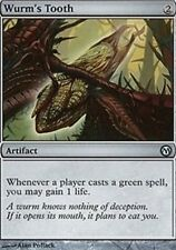 Wurm's Tooth X4 LP Duels of the Planeswalkers MTG Magic Card Artifact Uncommon