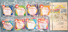 1996 McDonald's Happy Meal Toys  - NICKELODEON TANGLE -  Mint Set (8) + 2 Bags