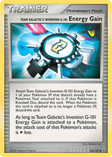 Energy Gain Uncommon Pokemon Card Pt1 Platinum 116/127