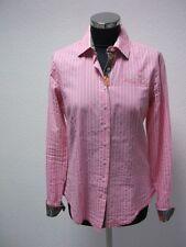 Milano Italy Bluse rosa-weiß gestreift Gr.36