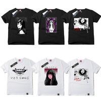 Men Women Collection T-Shirt Junji Ito Tomie Horror Face Cotton Tee T Shirt