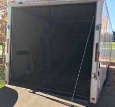 78.5 x 77.0 Rear Screen Door for Toy Hauler Ramp Door / Enclosed Trailer / RV
