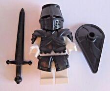 Custom BLACK KNIGHT Templar ARMOR & WEAPON PACK for Lego Minifigures Medieval