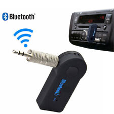 UK Wireless Bluetooth 3.5mm AUX Audio Stereo Music Car Receiver Adapter with Mic