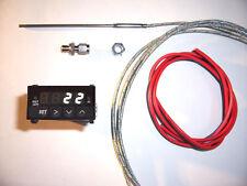 Abgastemperatur Anzeige SET WEIß 24V Volt Digital EGT Exhaust Gauge Temperatur