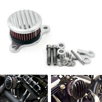 Air Cleaner Intake Filter System Kit for Sportster XL883/XL1200 1988-2015 S A