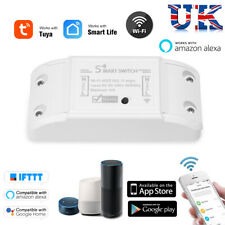 WIRELESS WIFI SMART SWITCH TIMER CONTROL REMOTE HOME AUTOMATION MODULE ALEXA