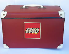 LEGO 890 - Valigia Vintage Lockable Storage Box 35x20x20 Red Box Carrying Case