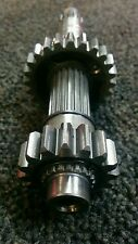YZ250F Main shaft (Input, Clutch) 2007. Comes with two gears only.