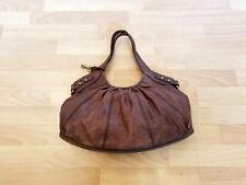 Fossil Leather Hobo Shoulder Bag Handbag Purse