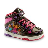 New Toddler Nickelodeon Dora & Friends Sneaker 39102 Size 9 Black/Pink 101A dr