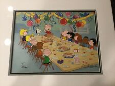 Peanuts limited edition cel from Snoopy Come Home.