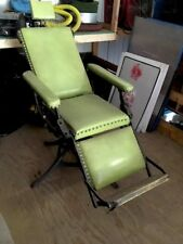 Antique McDannold Medical Surgical Chair Museum Tattoo Man Cave Dentist Vintage