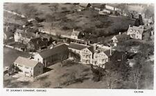 St Juliana's Convent Oxford Air Aerial View unused RP old pc J Braithwaite