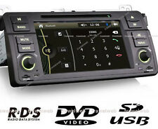 autoradio bmw e46, bluetooth GPS USB + CAMERA Recul