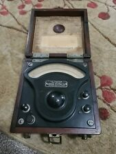 Antique General Electric Ac Voltmeter Schenectady Ny1909 Electrical Testing Ge