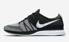 Size 10 - Nike Flyknit Trainer+ Black White 2012