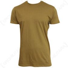 Magliette da uomo beige senza marca