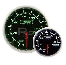 ProSport 52mm Super Ahumado Verde/Blanco Medidor de la temperatura del agua grados C