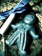 New Job - Wax Spell Doll Kit - Handmade & Organic (Wicca, Witchcraft, Hoodoo)