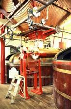 PHOTO  2005 BLANDFORD ST MARY DORSET HALL AND WOODHOUSE BREWERY MASH TUNS AND GR