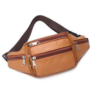 Unisex Waist Belt Bum Bag Fanny Pack Hip Pouch Travel Sports Phone Pocket LT