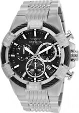 wachawant: Invicta 25862 Bolt 51mm Stainless Steel Black Dial Swiss Men's Watch
