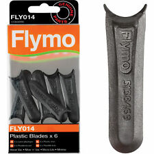 Flymo FLY014 Plastic Lawnmower Blades - Pack of 6