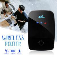 Portable Mini Pocket 4G LTE Wifi Wireless Router 150Mbps SIM Carb Slot 2021NEW