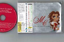 "# Promo! MARIAH CAREY All I Want for Xmas JAPAN 5"" CD w/OBI+SILVER PS SRCS2425"