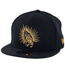 "New Era 9Fifty ""Praying Hands"" Snapback Hat (Black) Men's Latin America Cap"