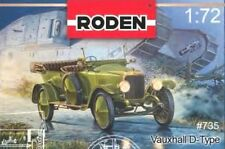 VAUXHALL D-TYPE (BRITISH ARMY & HM KING GEORGE V PERSONAL CAR MKGS) 1/72 RODEN