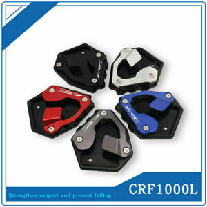 For HONDA CRF1000L Africa Twin Side Kickstand Stand Extension Plate Motorcycle