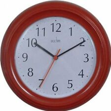 Wall Clock, Acctim Wycombe Wall Clock, Red